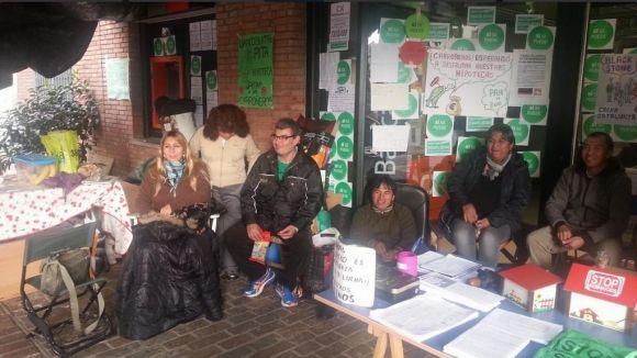 La CUP referma el suport a la PAH de Rubí i els seus 100 dies de protesta