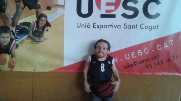 Joan Pahisa, nou assessor d'esport adaptat per a persones de talla baixa / FOTO: UE Sant Cugat
