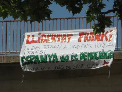 L'AJSC comença una campanya per donar suport a 'Franki'
