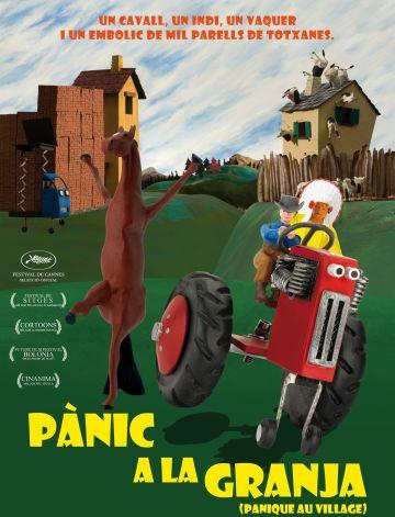 El Cicle de Cinema Infantil torna amb 'Pànic a la granja'