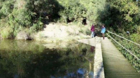 L'Ajuntament, el Consell Comarcal i el Parc de Collserola s'uneixen per recuperar el pantà de Can Borrell