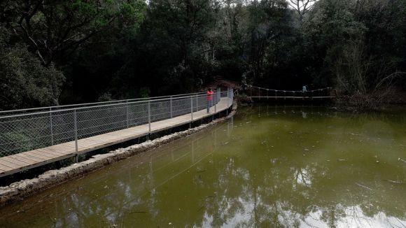 Sant Cugat celebra la recuperació del pantà de Can Borrell amb una caminada diumenge