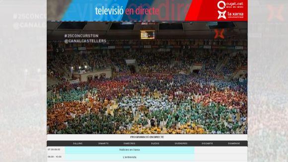 Cugat.cat ofereix una programació estable de televisió des de la web