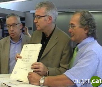 Encara queden 1.500 caixes de 'papers' de Salamanca per retornar