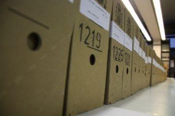Les últimes caixes de 'papers' de Salamanca arribaran a Sant Cugat a finals de juny