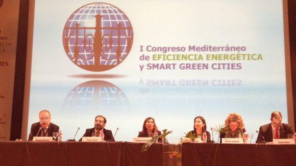 Sant Cugat explica el seu projecte smart al 1r Congrés Mediterrani d'eficiència energètica
