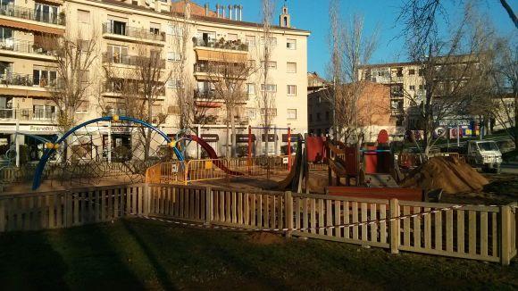 El parc infantil de la Rambla del Celler ja està reubicat