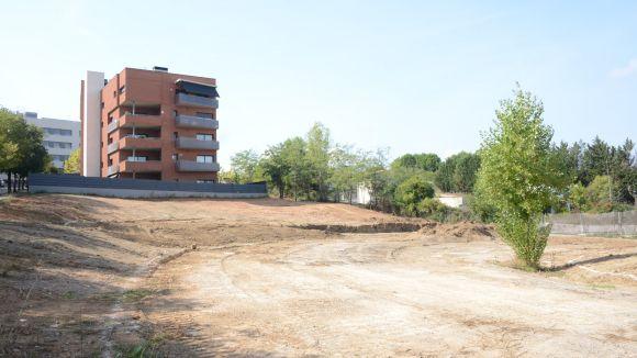 Can Mates tindrà un nou parc de 3.000 metres quadrats amb espai lúdic infantil