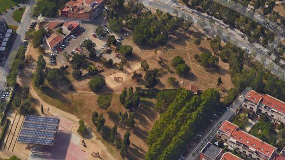 La futura biblioteca central de Ramon Barnils ocuparà 4.200 metres quadrats a tocar de la Rambla del Celler