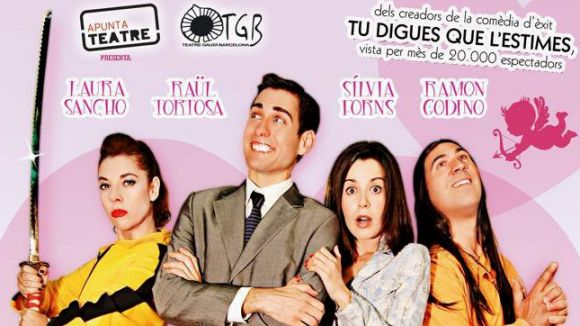 Raül Tortosa torna al Teatre Gaudí amb 'Totes les parelles ho fan'