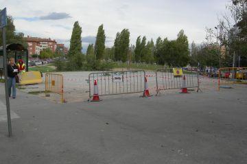 L'aparcament del CAP la Mina, reobert al públic