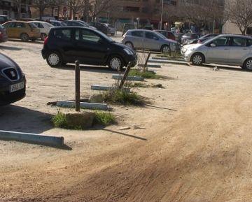 ICV insta l'equip de govern a arranjar l'aparcament de davant del CAP Sant Cugat