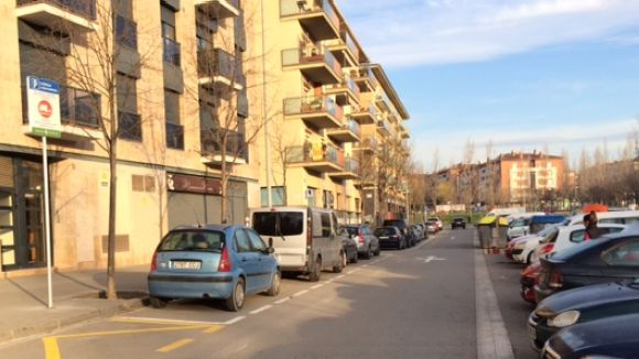 Ampliació de l'aparcament gratuït al carrer de Josefina Mascareñas