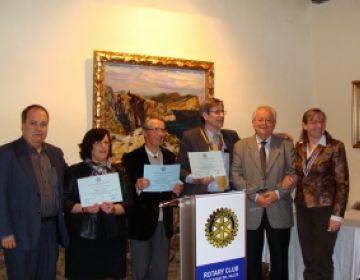 L'Associació Catalana per al Pàrkinson presenta el material obtingut amb el concert benèfic del Rotary Club