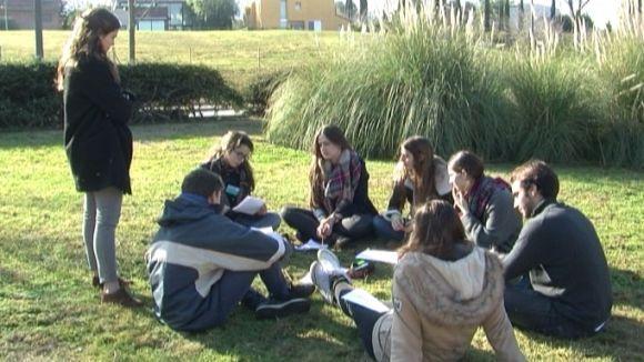 Alumnes de La Vall i l'Europa, escollits per al Parlament Europeu de Joves