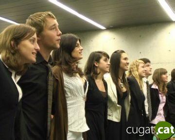 El Parlament Europeu per a Joves busca els representants barcelonins entre sis escoles