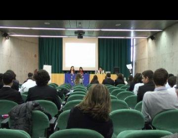 Presència santcugatenca a la sessió letona del Parlament Europeu de Joves