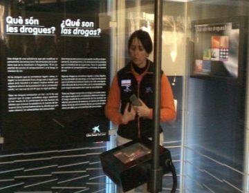 Una exposició itinerant alerta sobre el consum de drogues