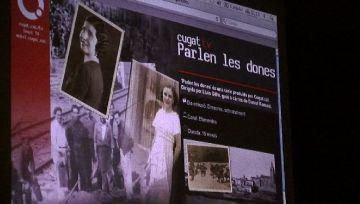 La projecció de la sèrie documental 'Parlen les dones' homenatja la tasca femenina local