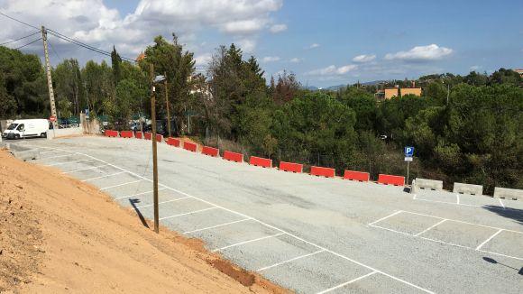 El nou pàrquing de Can Cadena s'obre al públic aquest dijous