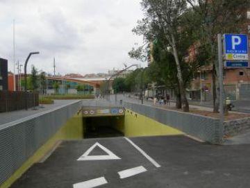 El nou pàrquing de la plaça de la Vila ofereix 200 places d'aparcament al centre de la ciutat