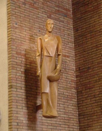 El Centre de Restauració de Béns Mobles de Valldoreix restaura tres escultures de Girona