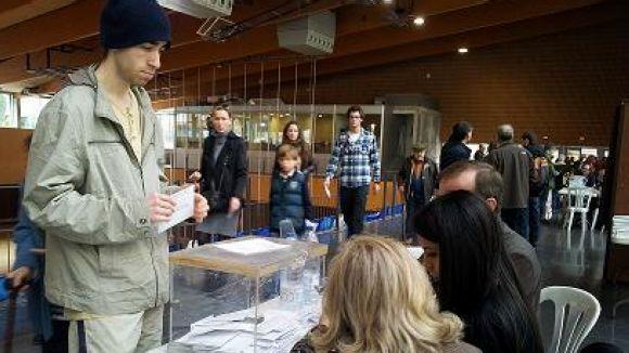 Gairebé vuit de cada 10 santcugatencs voten a les eleccions