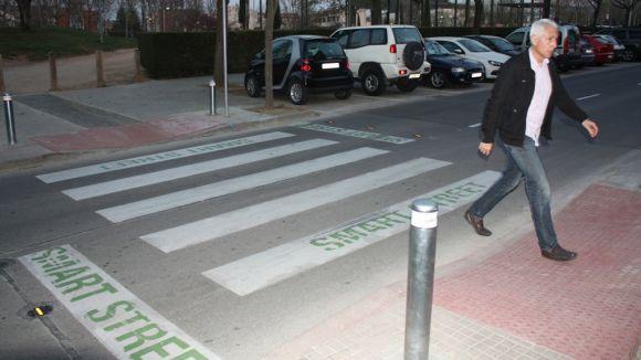 L'Ajuntament instal·larà dos passos de zebra intel·ligents a Volpelleres