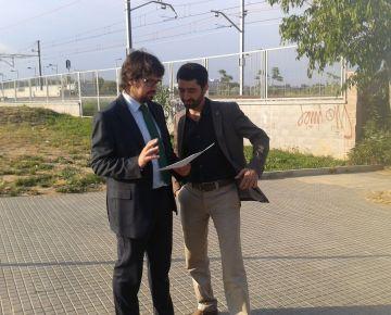 Un pas a prop de l'estació de Volpelleres millorarà la connectivitat entre Coll Favà i Sant Domènec