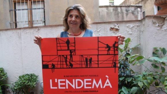 Isona Passola presentarà 'L'endemà' a Sant Cugat el 22 de febrer