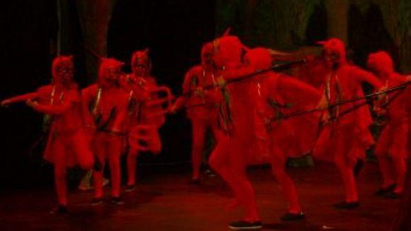 Moment de la representació d''Els pastorets' / Foto: XCCP