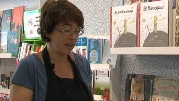 La santcugatenca Diana Ribas, una de les vocals del Gremi de Llibreters
