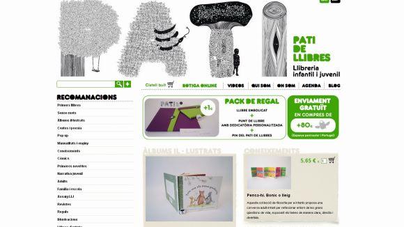 La llibreria infantil i juvenil ha començat amb el servei de venda online / Foto: Pati de llibres