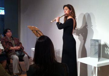La flauta travessera de Patrícia de No posa música a les obres de Neus Colet