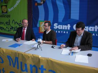 El Sant Cugat Centre Comercial patrocinarà les activitats del Club Muntanyenc