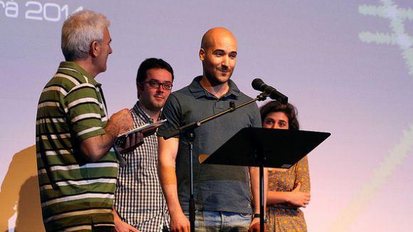 Jordi Cadena i Pau López, premiats al Festival Internacional de Cinema en Català