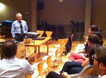 El doctor Clarós explica els riscos mèdics dels cantants