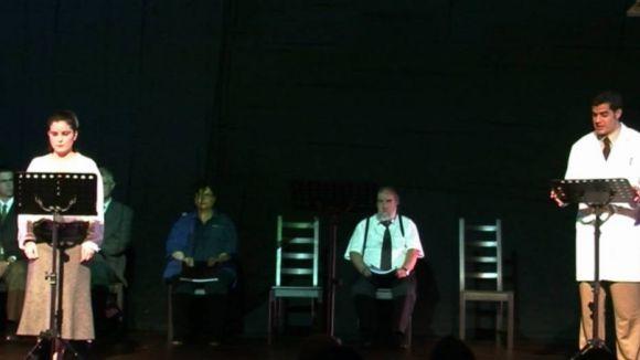 In-Fusió Teatre planta el dret a l'avortament dalt l'escenari de Mira-sol
