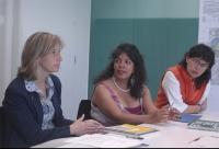 Visita de la coordinadora nacional de la Ruta Pacífica de las Mujeres a Sant Cugat