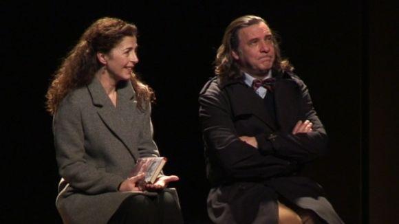 Àlex Casanovas i Mercè Pons mostren 'Pensaments Secrets' universals al Teatre-Auditori