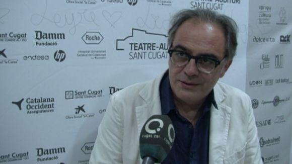 Pep Tosar mostra el Lorca 'més humà' al Teatre-Auditori