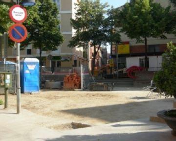 Les obres al voltant de la plaça Pep Ventura no afectaran la Festa Major