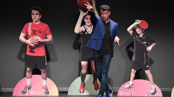 Esport i humor: els millors moments de Pep Plaza a la 21a Nit de l'Esport