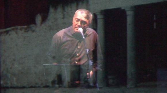 Pep Tosar és Guillem d'Efak al Teatre-Auditori