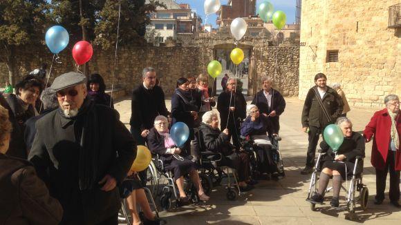 Sant Cugat acomiada Pepa Llunell en una afectuosa cerimònia al Monestir