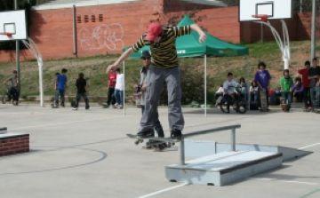 Bona acollida de l'Skate Park de Valldoreix