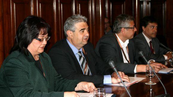 El consell comarcal del Vallès Occidental defensa la seva unitat al Parlament