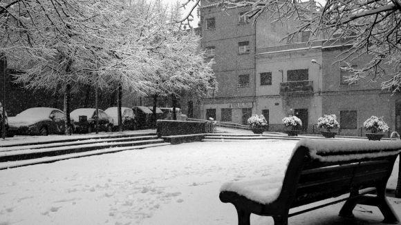 Sant Cugat, en prealerta pel risc de nevades aquest cap de setmana