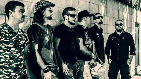 El grup de rock Perbeersions, al concert per la independència de l'ANJI