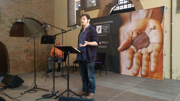 El Festival Nacional de Poesia a Sant Cugat reivindica la figura de Pere Gimferrer en la cloenda oficiosa